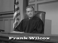 Frank Wilcox Frank Wilcox as Judge
