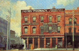 Jacob's Pharmacy, 1886