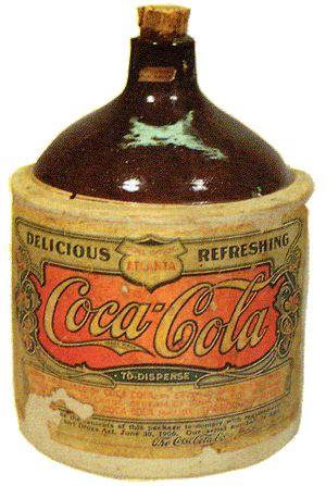 Ceramic Syrup Bottle, circa 1900s