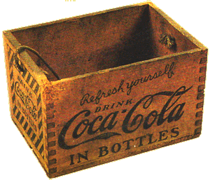 1920s Wooden Bottle-Crate