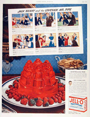 Jack Benny's Comic Strip in Jell-O Ads circa 1938