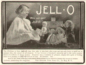'Who Can Spell Jell-O?' c. 1904
