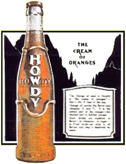 Grigg's Howdy Beverage 'The Cream of Oranges'