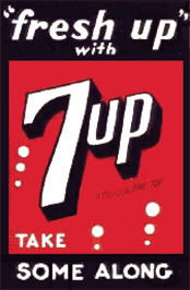 Fresh up with 7up. Take some along