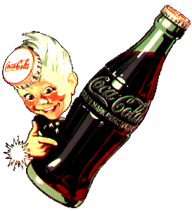Little Sprite with 10oz. Classic embossed bottle circa 1956
