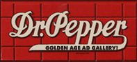 Dr. Pepper Ad Gallery header
