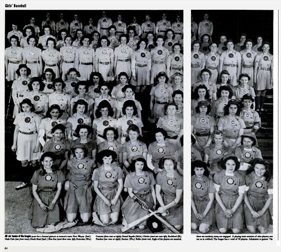 Life Magazine Girls Baseball article from June 4, 1945