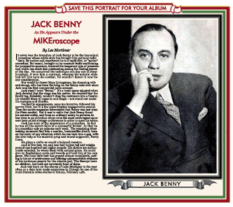 1934 Collectable Spotlight on Jack Benny thumb