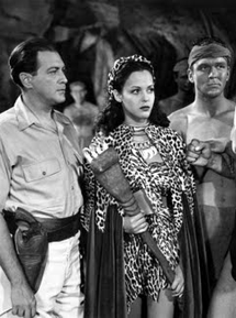 Edgar Barrier as Dr. Ameer Lazar in Tarzan Meets the Leopard Woman (1946)