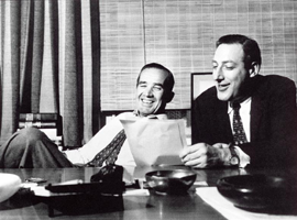 Murrow and Fred Friendly collaborating