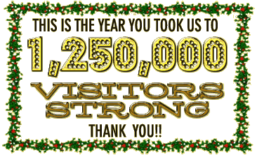 Thank you for taking us to 1,000,000 Visitors strong!