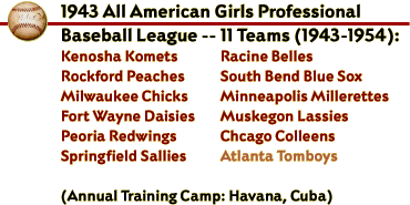 1943 All American Girls Professional Baseball League