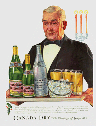 """The Champange of Ginger Ales"" c. 1934"