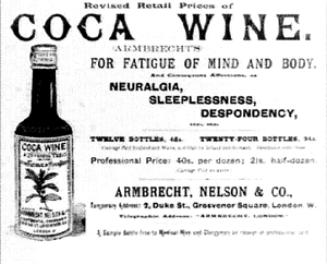 Coca Wine for Fatigue of Mind and Body (Click for larger Image)
