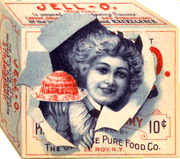 Early 'Rasberry' Jell-O box