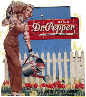 Drink Dr Pepper Good For Life Circa 1952