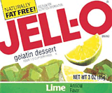 Lime Jell-O simulates human brain activity