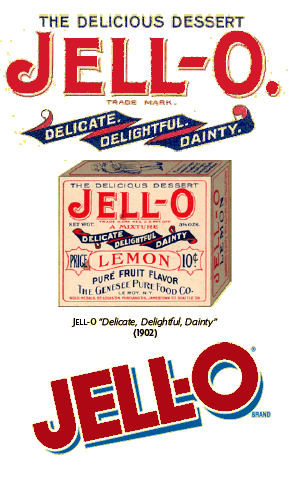 Original Jell-O header art