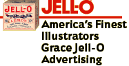 Jell-O: America's Finest Illustrators Grace Jell-O Advertising