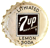 7Up Lithiated Lemon Soda Bottle-cap