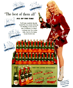 Canada Dry ''The Best of Them All'' circa 1955