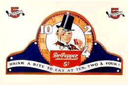 'Drink A Bite to Eat at Ten, Two, and Four' c.1932
