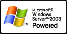 Powered by Windows 2000 Server